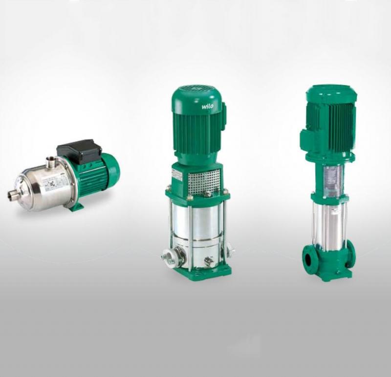 威乐水泵不锈钢多级离心泵